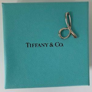 "Tiffany & Co. Letter ""D"" Pendant"